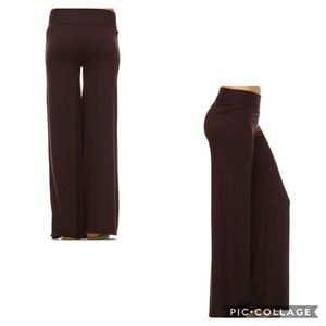 Pants - 🔥NEW!🔥 XL-3X Brown Wide Leg Palazzo Pants